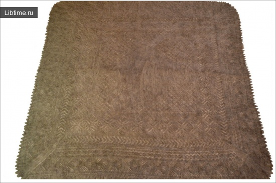 Как выстирать оренбургский пуховый платок