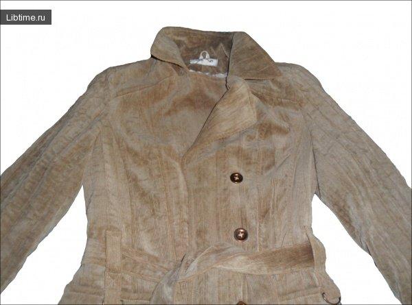 Как выстирать вельветовую куртку