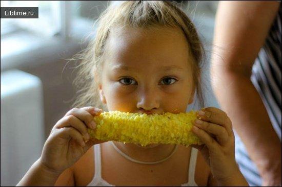 Где едят кукурузу