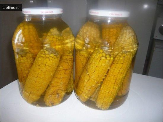 История консервирования кукурузы