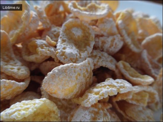 Рецепт кукурузных хлопьев