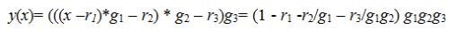 функция y(x)