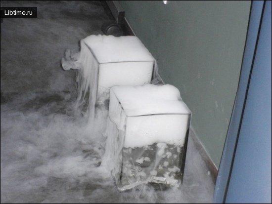 Получение сухого льда