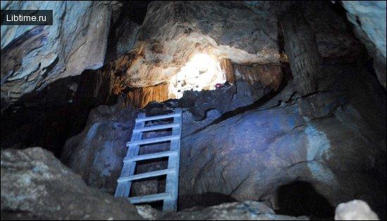 Происхождение пещер