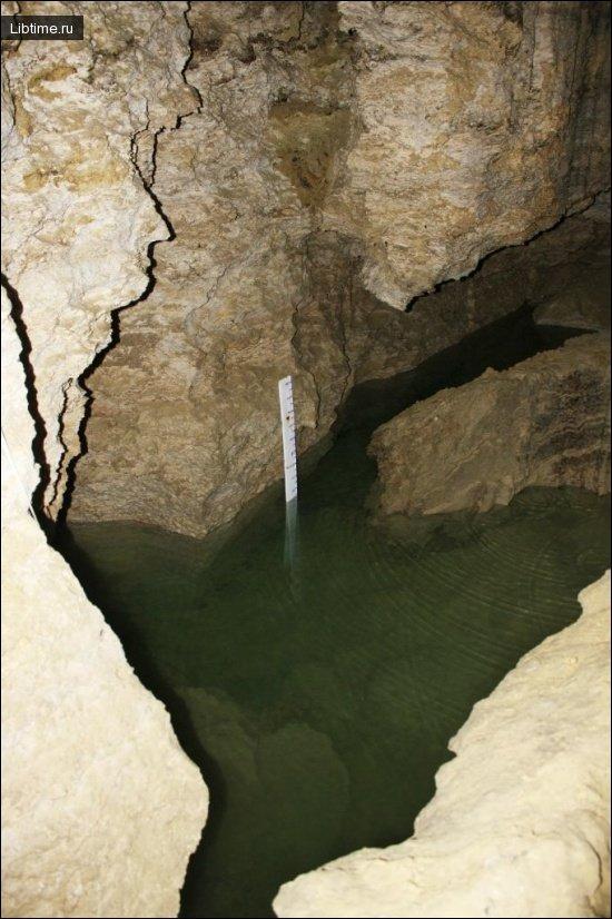Озерная пещера