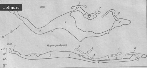 План Бородинской пещеры