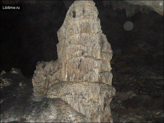 сталагмит Верхняя Пагода