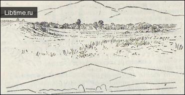 Схема построения рисунка - Гора Синюха (Зап. Алтай)