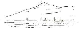 Контурный рисунок (Сихотэ-Алинь)