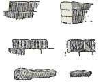 Различное штрихование