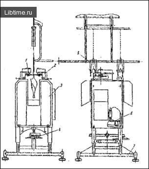 Автомат для відділення ніг птиці