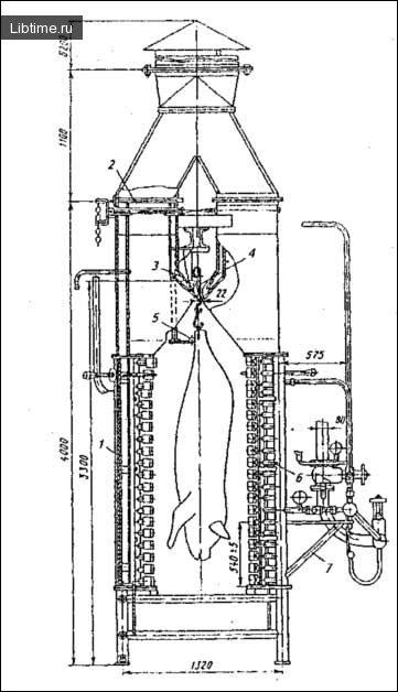 Схема печі К7–Ф02–Е