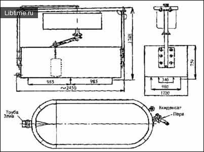 Сироробна ванна СВ-1000