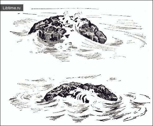 Рисование моря карандашом