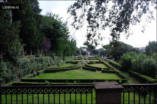 Садово-паркове мистецтво стародавнього Риму