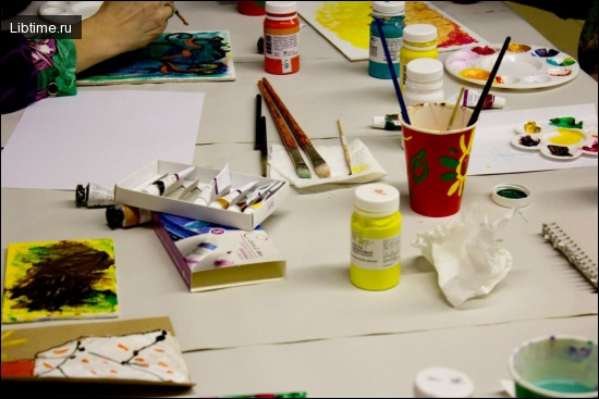 Обучение рисования в школе