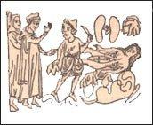 Английская миниатюра XIV века