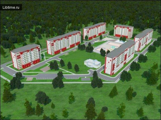 Планування внутрішньоквартальної житлової забудови