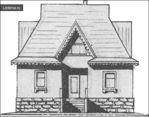 Чотирикімнатний садовий будинок
