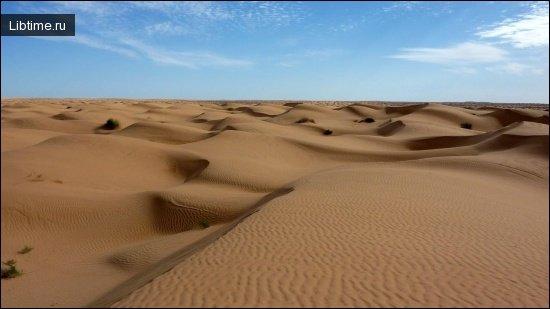 Ориентирование в пустынях