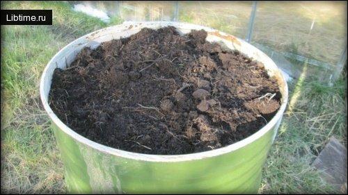 Компост - органическое удробрение