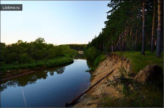 Река на пути к морю