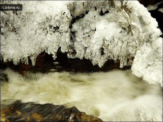Лед - замерзшая вода