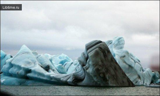 Лед северного полушария