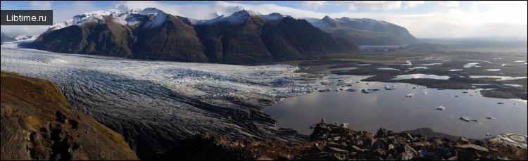 Деятельность ледников