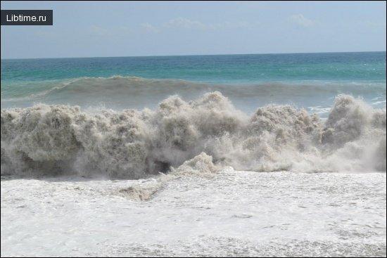 Разрушительная сила морей