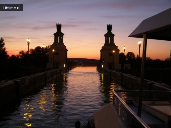 Строительство Волгодонского канала