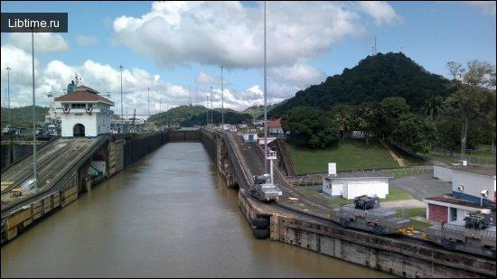 Открытие Панамского канала