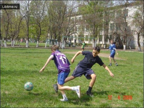 Спорт на свежем воздухе