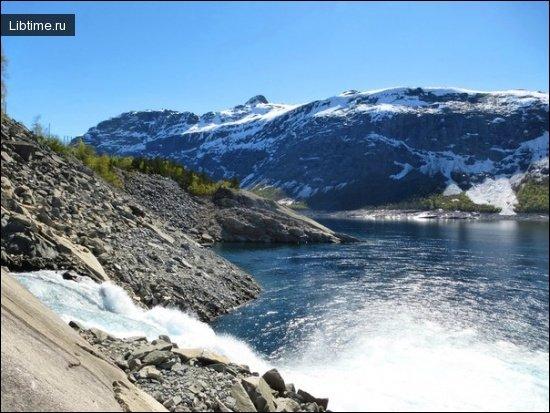 Какая вода ледников