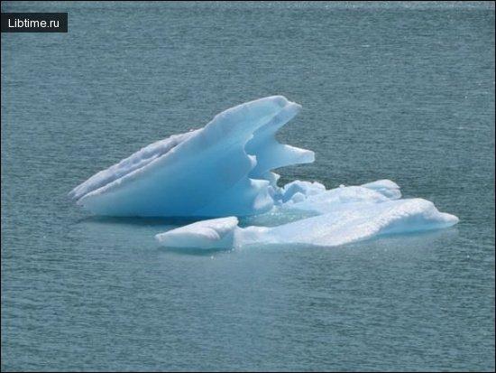 Лед в воде
