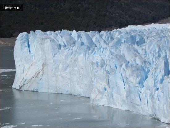Ледник в Чили