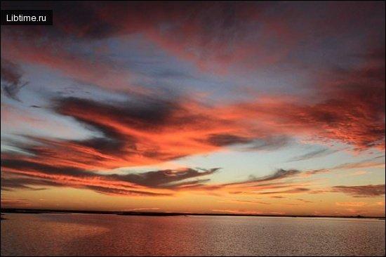Закат на р. Нигер