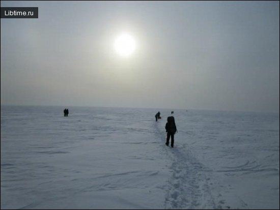 Исследователи Северного полюса