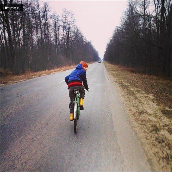 Велосипедная прогулка
