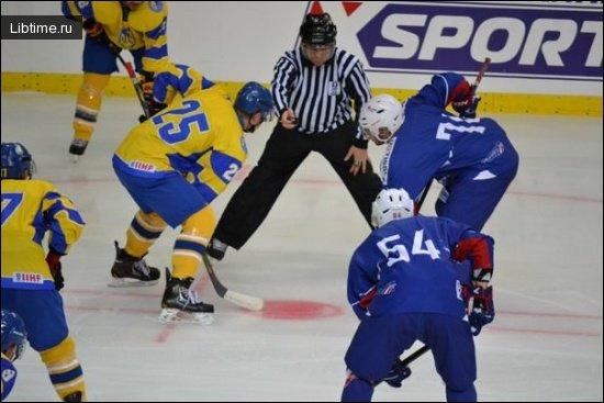 Хоккей - конькобежный спорт