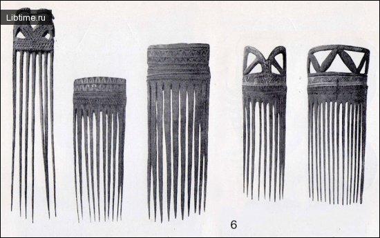 Бамбуковые гребни для волос