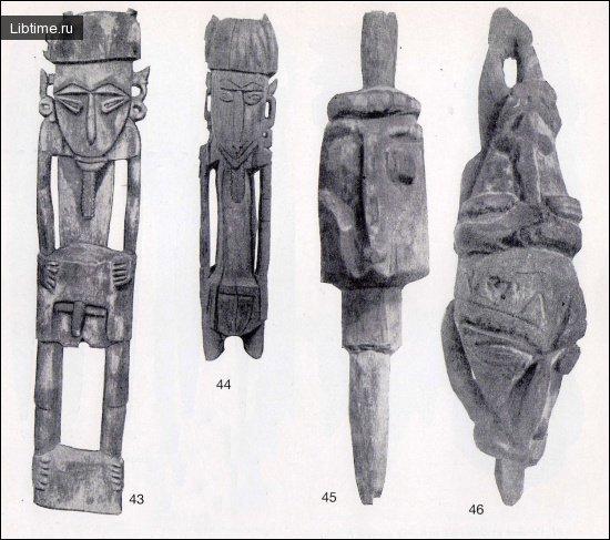 Различные фигуры из дерева