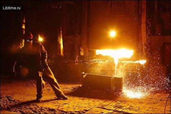 История  производства стали