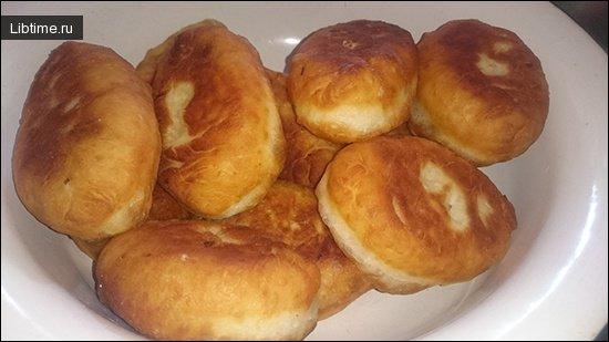 Пирожки жаренные с картофелем
