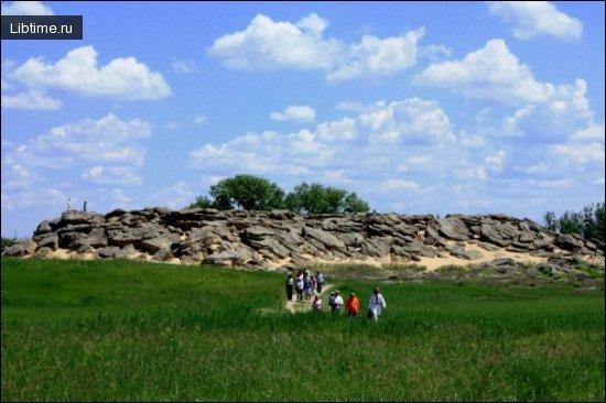 Каменная могила под Мелитополем - Фото