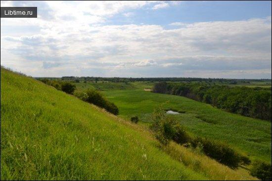 Природные памятники Украины - Урочище Лелия