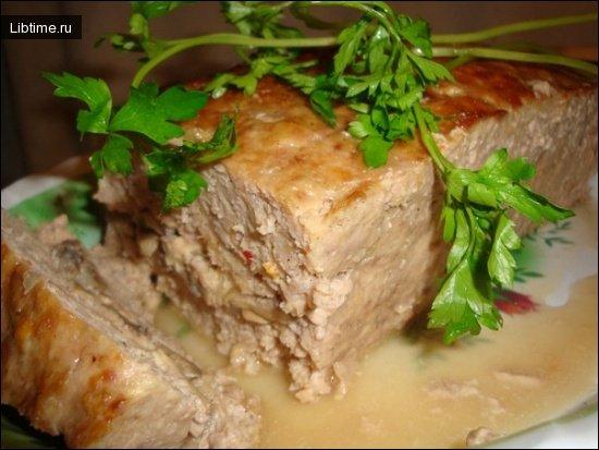 Как приготовить мясной хлебец