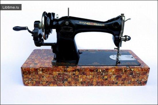 История швейной машинки