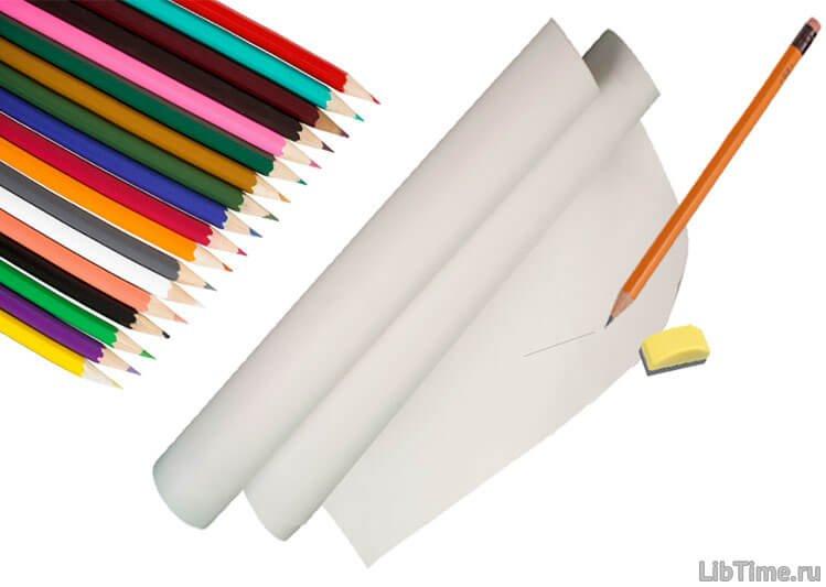 Оборудование для рисования карандашом