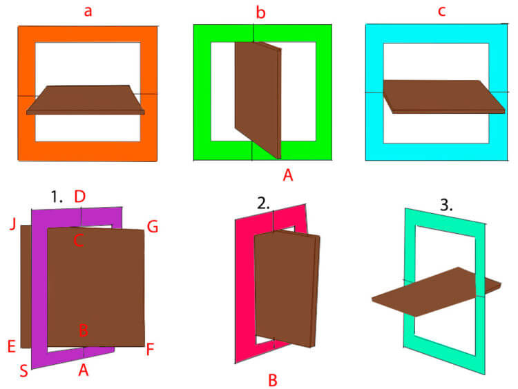 Рисуем вращающийся квадрат
